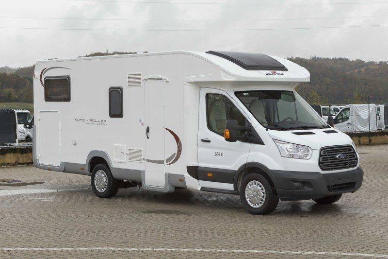 Nieuwe Badkamer Caravan : Nieuwe camper serie auto roller mobilvetta campers
